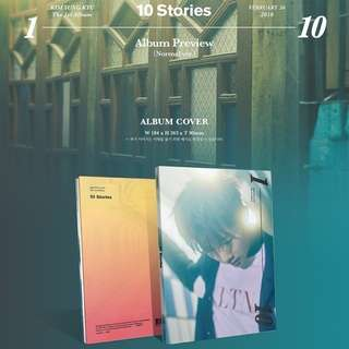 KIM SUNG KYU 1ST ALBUM - 10 STORIES (NORMAL VER)