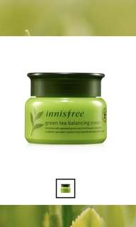 Innisfree Green tea cream