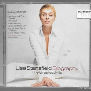 MY PRELOVED CD - LISA STANSFIELD - BIOGRAPHY - THE GREATEST HITS  /FREE DELIVERY(F7A)