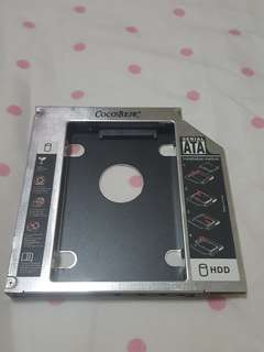 12.7mm HDD Caddy for laptop optical / DVD / CD drive