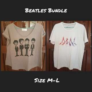 Bundle: Beatles shirts