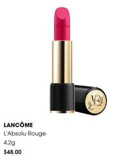 BN Lancome L'absolu Rouge Lipstick