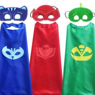 Pj mask cape and mask set