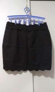 Brand New XL Black Skirt