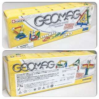 GeoMag Magnetic World Multicolor 20 pcs
