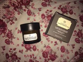 THE BODY SHOP MASK - CHINESE GINGSENG AND RICE
