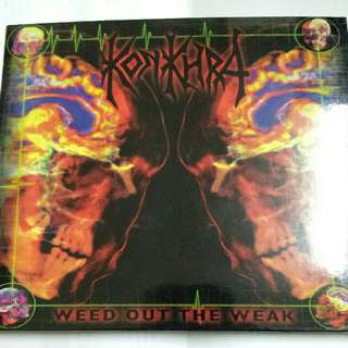 Music CD (Metal): Konkhra–Weed Out The Weak - Thrash Metal, Death Metal