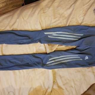 Adidas 慢跑訓練運動內搭褲s