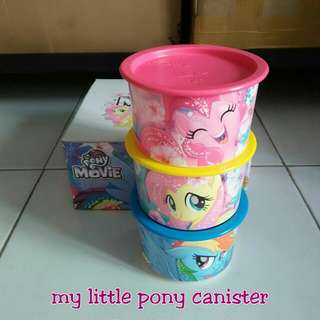 Toples little pony tupperware