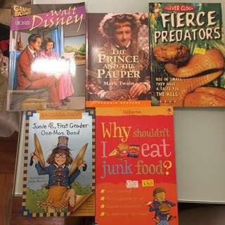 [全新半價]英文圖書 English story books
