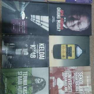 Dubook,nubook,thukul cetak and ilhambooks collection
