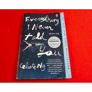 Everything I Never Told You by Celeste Ng (TP)