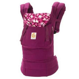 Ergo Baby Carrier (purple)