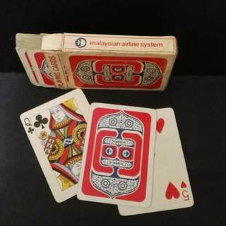 Vintage MAS Playing Card