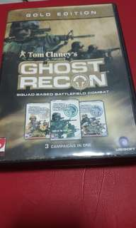 PC Game: Tom Clancy's Ghost Recon Gold Edition (3-in-1)