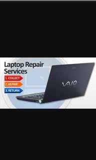Laptop Repairs & Upgrades