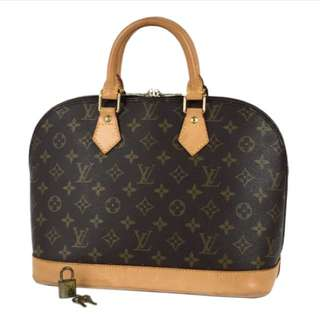 💯Authentic Louis Vuitton Alma PM