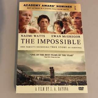 The Impossible, The Traveler's Wife, The Curious Case of Benjamin Button, American Hustle, The Bucket List