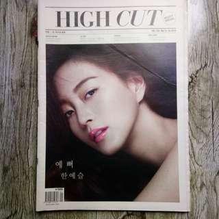 HighCut High Cut ft SNSD Girls Generation Taeyeon