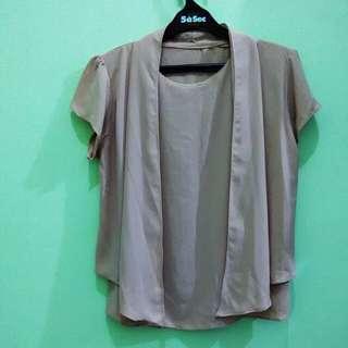 Kutubaru style blouse L