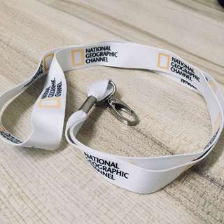 Limited Edition National Geographic Channel Lanyard String
