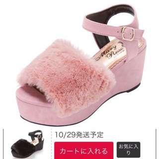 超靚日本🇯🇵冬夏春秋著得靚毛毛鞋 sandal snidel