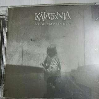 Music CD: Katatonia–Viva Emptiness