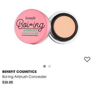 BN Benefit Cosmetics Airbrush Concealer No 1
