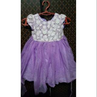 PERIWINKLE GIRLS DRESS