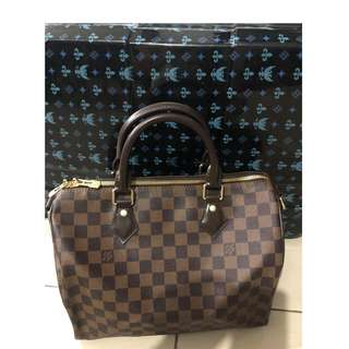 Authentic Louis Vuitton Speedy Bandouliere Damier