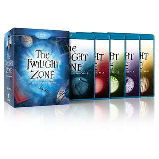 Twilight Zone Complete Series Bluray | 5 seasons | 24 discs