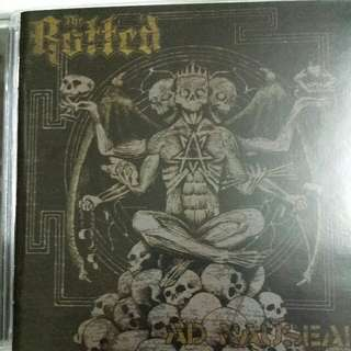 Music CD (Metal): The Rotted ‎– Ad Nauseam - Death Metal, Punk, Candlelight Records