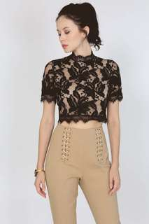 MDS Lace Crop Top
