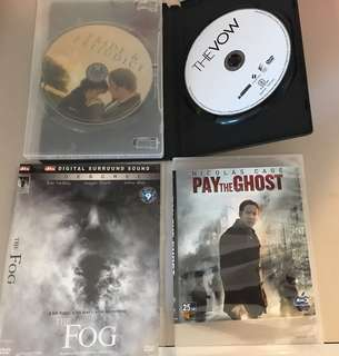 Pride & Prejudice, The Vow, The Fog, Pay the Ghost