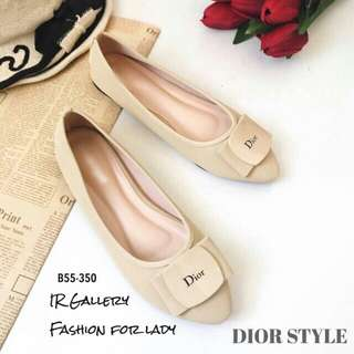 Style dior flat shoes