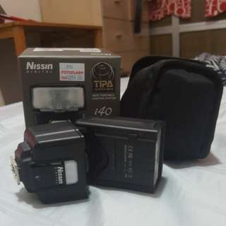 Nissin i40 flash for m43