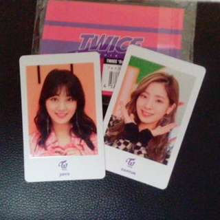 Twice Jihyo card (one more time)