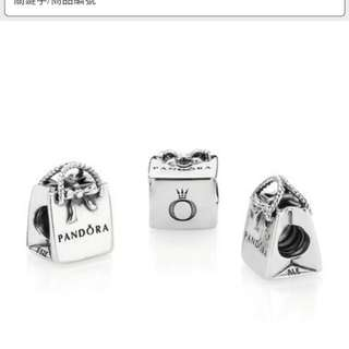 Pandora Charm shopping bag