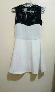 Dress (see through back)
