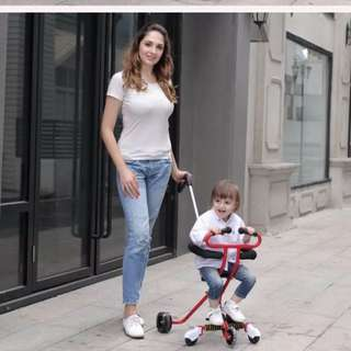 Kids Portable Tricycle Stroller