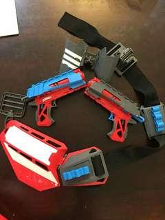 Nerf n mix gun 5 pcs
