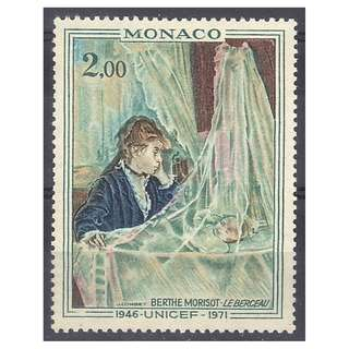 Painting on Stamp (Painter, Berthe Morisot)