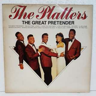 Reserved: The Platters - The Great Pretender Vinyl Record