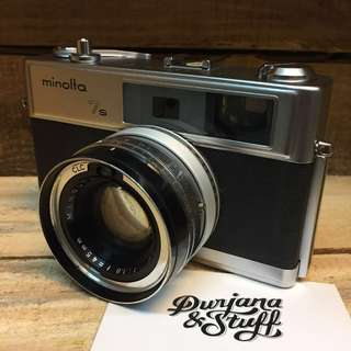 Minolta Hi-Matic 7s Film Camera