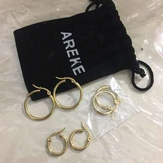 Ereke jewels Hoop Earrings