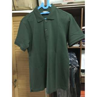 Uniqlo Dark Green Poloshirt