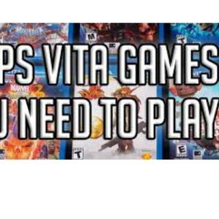 PS Vita Games for Sale