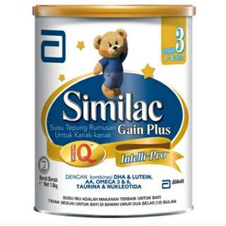 1.8kg Similac Stage 3