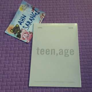 SEVENTEEN SVT TEEN AGE WHITE CD PLATE