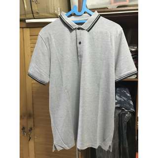 Giordano Light Grey Poloshirt
